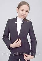 Пиджак школьный для девочки м-919 рост 128, фото 1