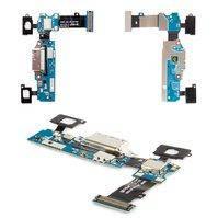 Шлейф для мобильного телефона Samsung G900F Galaxy S5, коннектора зарядки, с компонентами, REV.06