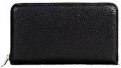 Удобный мужскый кожаный клатч чорный Issa hara (Украина) CL6-1 (11-00)