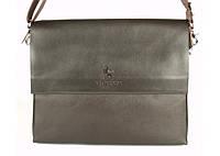 Мужская сумка Bradford 888-6 для документов формата А4 на три отдела искусственная кожа размер 32х28x9см