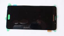 Дисплей с сенсором Samsung A710 Galaxy A7 Black оригинал, GH97-18229B, фото 3