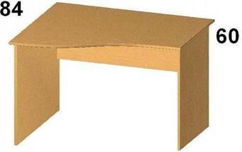 Стол письменный криволинейный БЮ107, фото 3