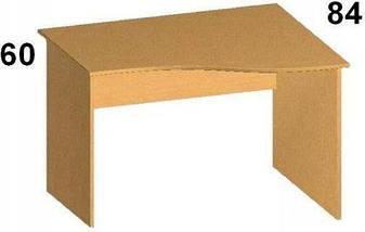 Стол письменный криволинейный БЮ108, фото 3