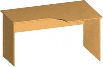 Стол письменный криволинейный БЮ116, фото 3