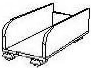 Полка под системный блок БЮ209, фото 2