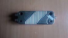 Теплообменник вторичный (пластинчатый) газового котла Junkers/Bosch ZWC24/28-1.