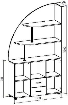 Шкаф-горка П-16 (П-16*), фото 2