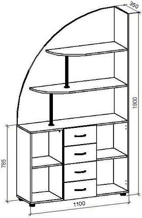 Шкаф-горка П-18 (П-18*), фото 2