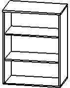 Шкаф низкий открытый 4/209а, фото 2