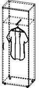 Шкаф для одежды 4/241а, фото 2