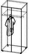Шкаф для одежды 4/243а, фото 2