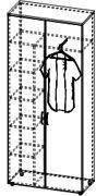 Шкаф для одежды 4/248а, фото 2
