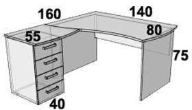 Стол ПР201.2 (левый, правый), фото 2