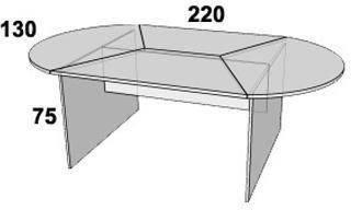 Стол конференционный ПР210, фото 2