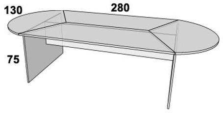 Стол конференционный ПР211, фото 2