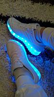 Кроссовки светящиеся подсветка LED (рр.36-41)