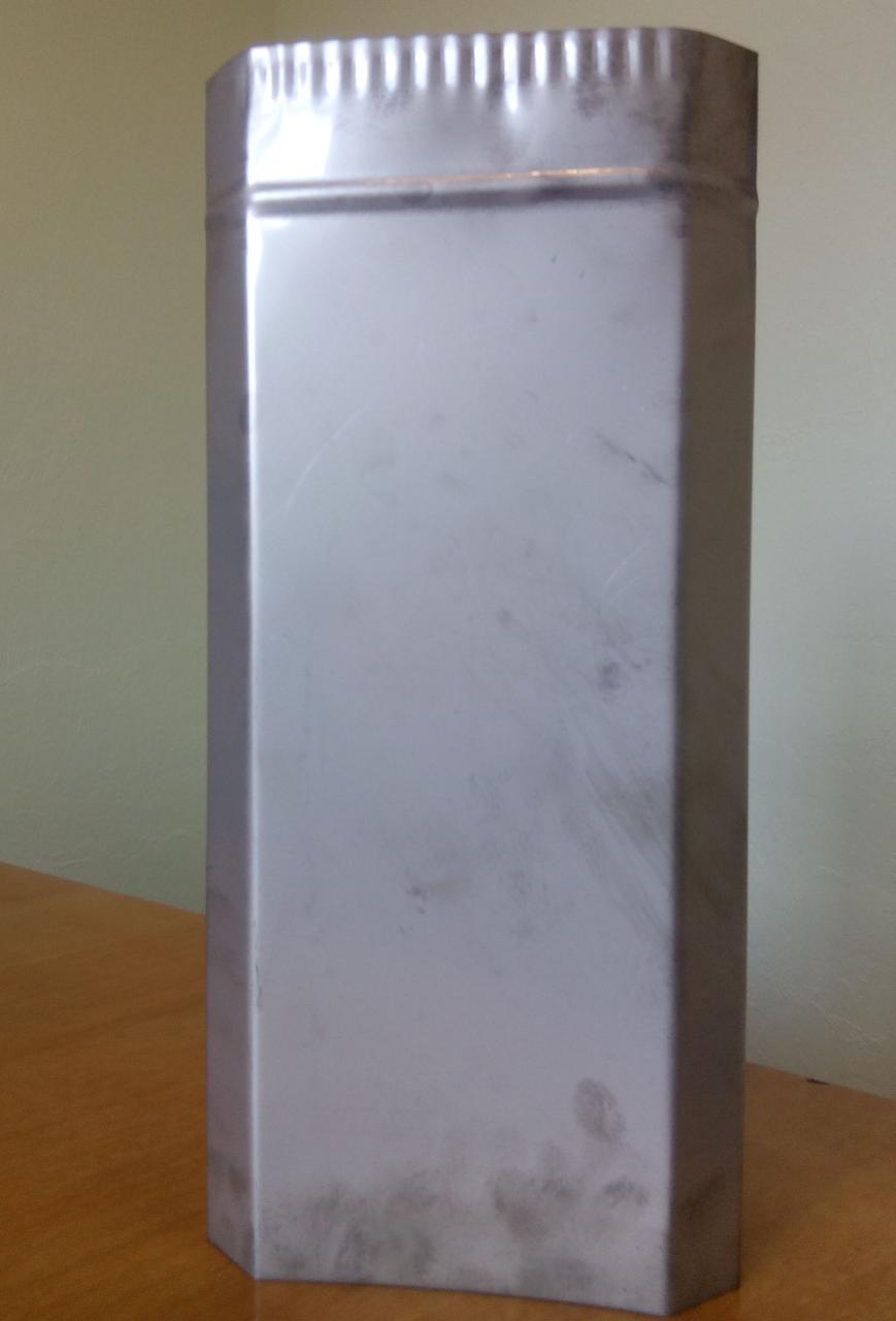 Труба-гільза з нержавіючої сталі ø240/130