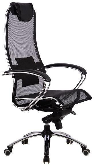 Кресло Самурай S1 Black, черный, Сетка
