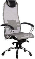 Кресло Самурай S1 Grey, серый, Сетка