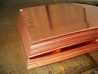 Медный лист 1х600х1500 мм М1, М2 ГОСТ доставка.
