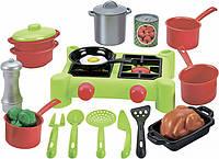 """Детский игровой набор """"Плита с набором посуды"""" Ecoiffier (002649)"""