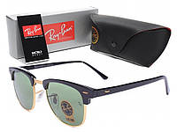 Качественные солнцезащитные очки Ray Ban Clubmaster. Стильный и практичный дизайн. Купить онлайн. Код: КДН1661