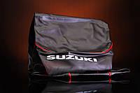 Чехол сиденья Suzuki Lets с надписью SUZUKI