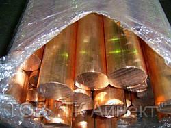 Круг медный ф 10, 20, 30, 40, 50, 60, 80, 100-220 мм М1 тв. мяг. отрезаем от целого прутка.