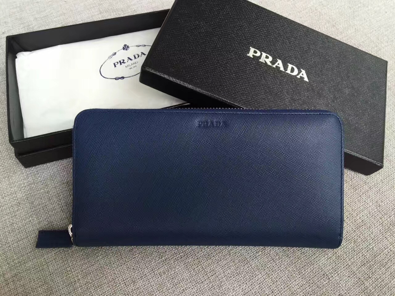 Мужской кошелек Prada (Прада)