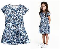 Голубое платье H&M  - 1,5-2 года