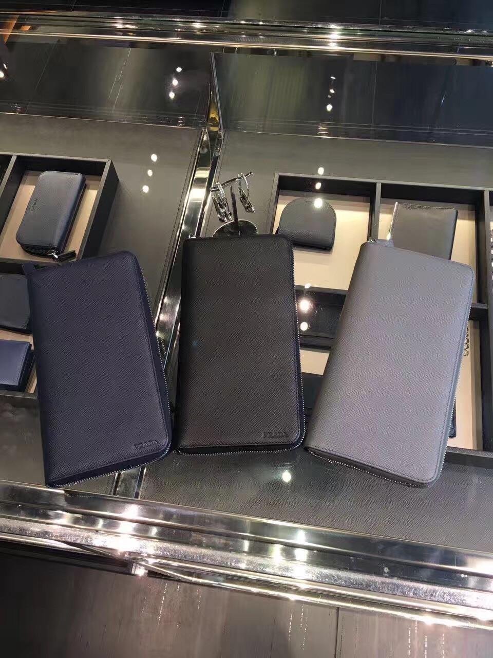 Prada - портмоне мужское брендовое