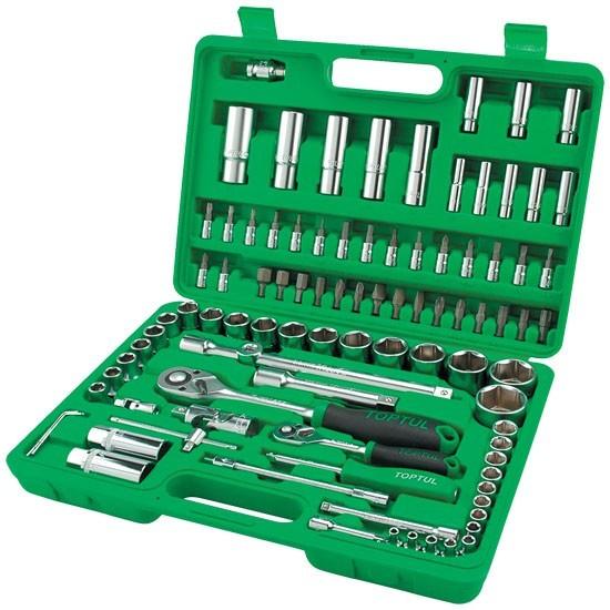 Набор инструмента 1/4'' и 1/2'' 108 предметов
