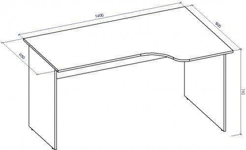 Стол письменный СТ-41 (СТ-41*), фото 2