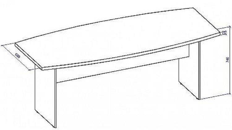 Стол для конференций СТК-1/22, фото 2