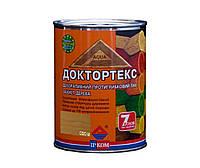 Лазурь-лак антисептический ІРКОМ ДОКТОРТЕКС ІР-013 для древесины, сосна, 0,8л