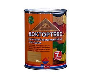 Лазурь-лак антисептический ІРКОМ ДОКТОРТЕКС ІР-013 для древесины сосна 0,8л