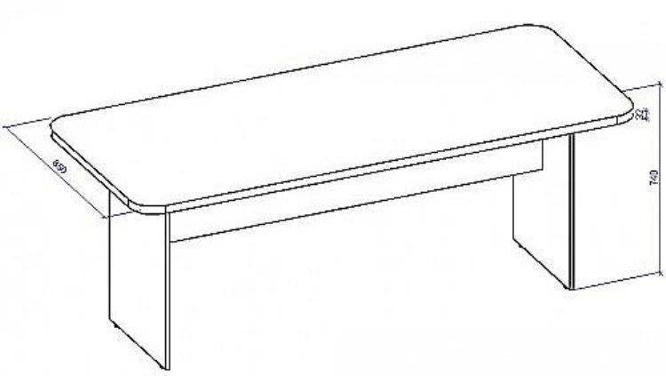 Стол для конференций СТК-2/18, фото 2