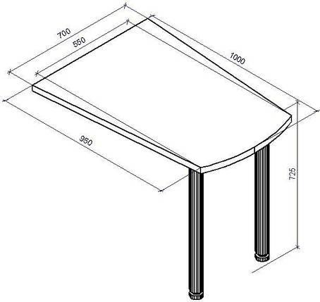 Стол приставной СП-11, фото 2