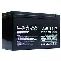 Аккумуляторная батарея Alva AW12-7 (7Ачас/12В)