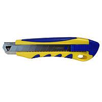 Канцелярский нож с пластиковой ручкой