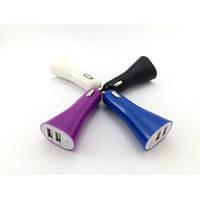 УЗУ Belkin АЗУ USB Soft Touch (2xUSB, 2.1A, 10W)