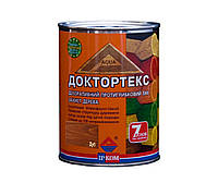 Лазурь-лак антисептический ІРКОМ ДОКТОРТЕКС ІР-013 для древесины, дуб, 0,8л