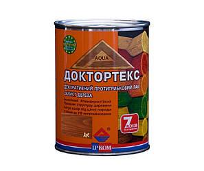 Лазурь-лак антисептический ІРКОМ ДОКТОРТЕКС ІР-013 для древесины дуб 0,8л