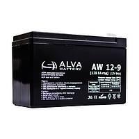 Аккумуляторная батарея Alva AW12-9 (9Ачас/12В)