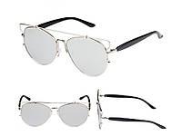 Зеркальные солнцезащитные очки Christian Dior. Отличное качество. Удобные и практичные очки. Код: КДН1665
