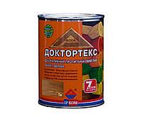 Лазурь-лак антисептический ІРКОМ ДОКТОРТЕКС ІР-013 для древесины, тик, 0,8л