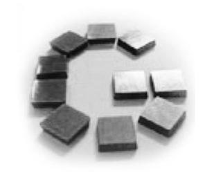 Ріжучі пластини для використання у LKF200 (гострі кути),