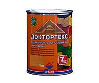 Лазурь-лак антисептический ІРКОМ ДОКТОРТЕКС ІР-013 для древесины, груша, 0,8л