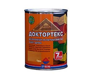 Лазурь-лак антисептический ІРКОМ ДОКТОРТЕКС ІР-013 для древесины груша 0,8л