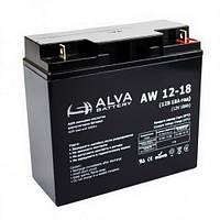 Аккумуляторная батарея Alva AW12-18 (18Ачас/12В)